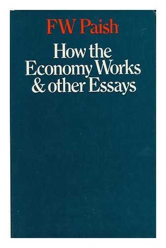 9780333110676: How the Economy Works