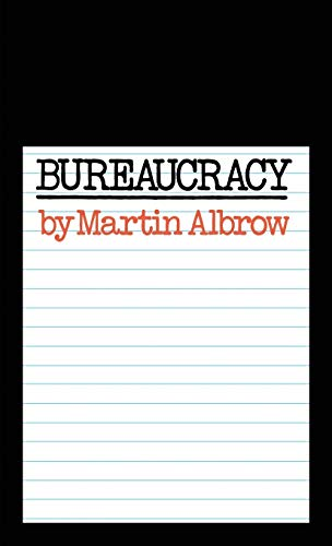 9780333112625: Bureaucracy (Key Concepts in Political Science)