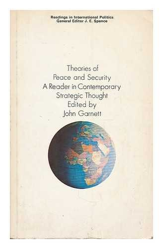 9780333112656: Theories of Peace and Security
