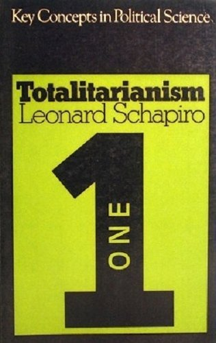 9780333113127: Totalitarianism (Key Concepts in Political Science)