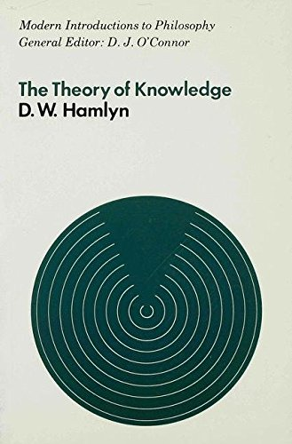 9780333115480: The Theory of Knowledge (Modern Introductions to Philosophy)