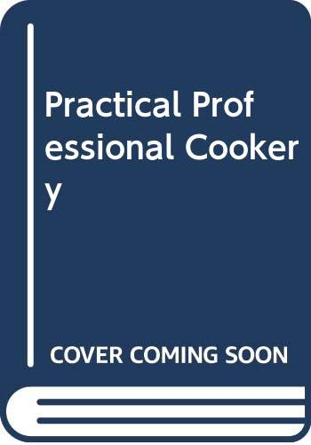 9780333115879: Practical Professional Cookery