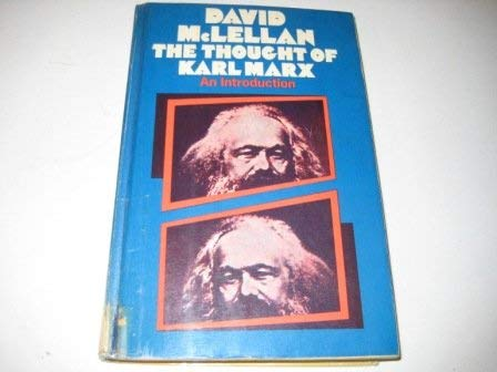 9780333117101: Thought of Karl Marx