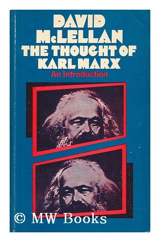 9780333118405: Thought of Karl Marx