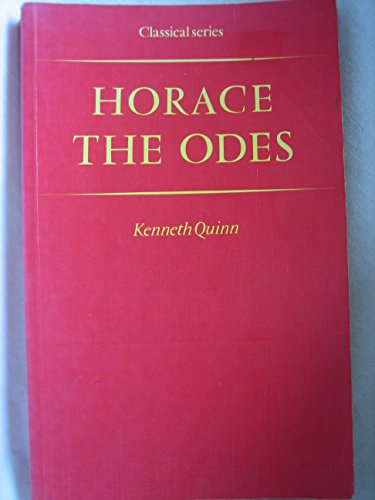 9780333118764: The Odes (Classical) (English and Latin Edition)