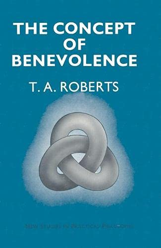 9780333120552: Concept of Benevolence