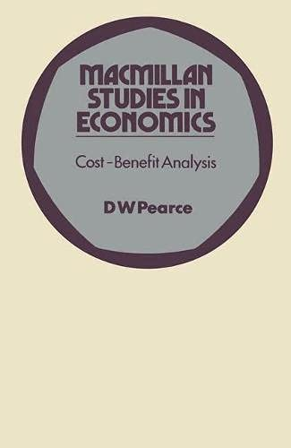 9780333120637: Cost-benefit Analysis (Study in Economics)
