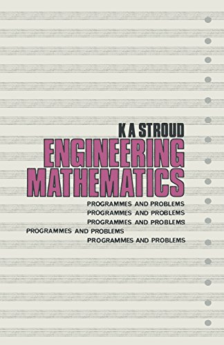 9780333123355: Engineering Mathematics: Programmes and Problems