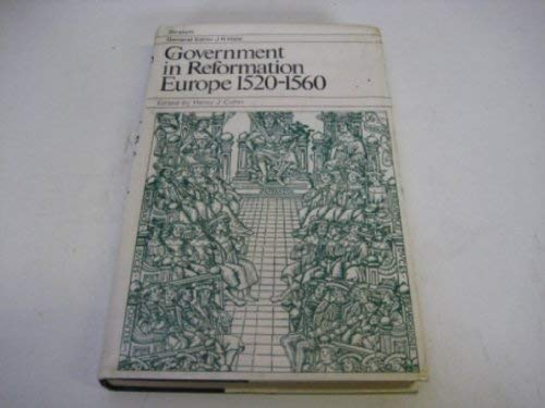 9780333123492: Government in Reformation Europe, 1520-60 (Stratum)
