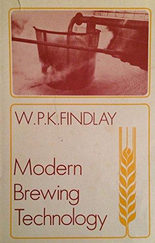 9780333124635: Modern Brewing Technology