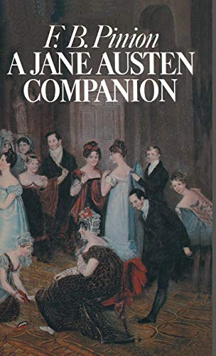 9780333124895: A Jane Austen Companion: A Critical Survey and Reference Book (Literary Companions)
