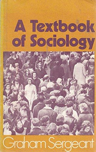 9780333125038: TEXTBOOK OF SOCIOLOGY