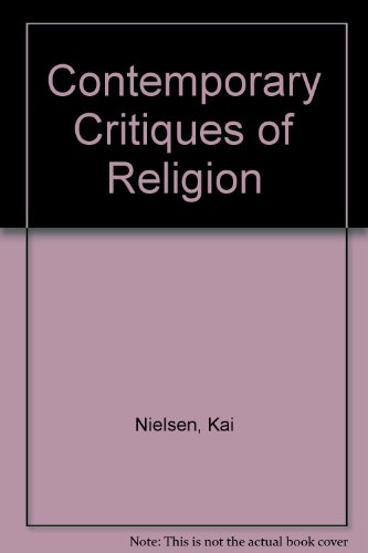 9780333126455: Contemporary Critiques of Religion