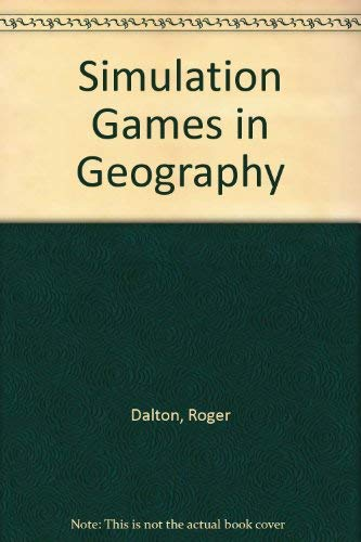 9780333130582: Simulation Games in Geography