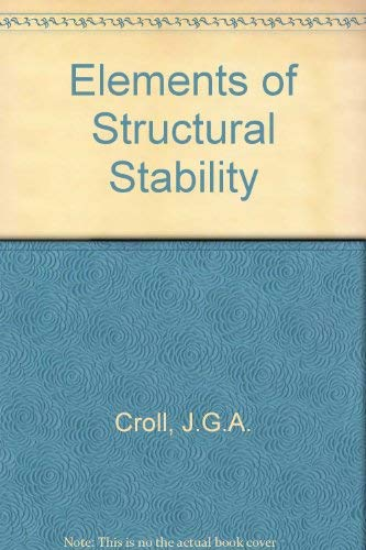 9780333134177: Elements of Structural Stability