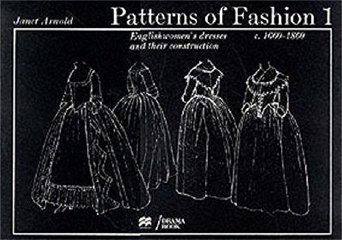 9780333136065: Patterns of Fashion: 1660-1860