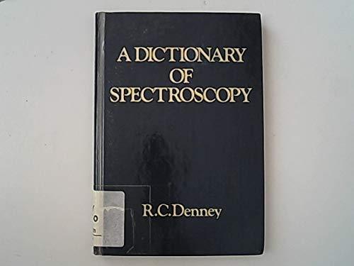 9780333138809: Dictionary of Spectroscopy