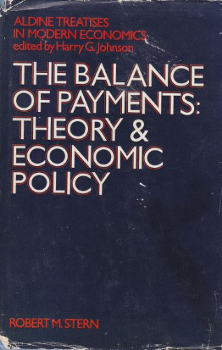9780333141458: Balance of Payments: Theory and Economic Policy