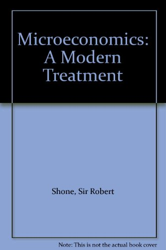 9780333141977: Microeconomics: A Modern Treatment