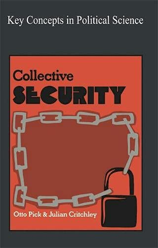 9780333144039: Collective Security (Key Concepts in Political Science)