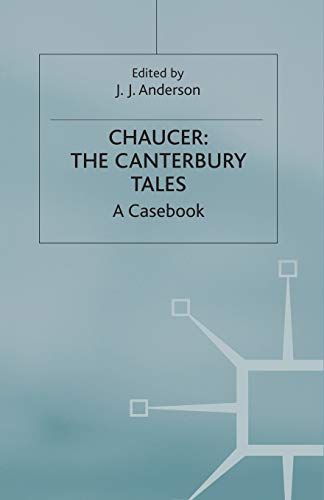 9780333145241: Chaucer: The Canterbury Tales (Casebooks Series)