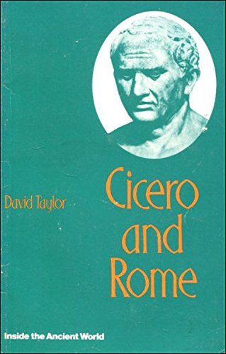 9780333147429: Cicero and Rome (Inside the ancient world)