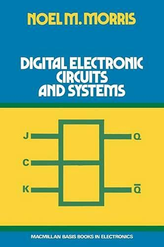 9780333148624: Digital Electronic Circuits and Systems (Studies in Economic and Social History)