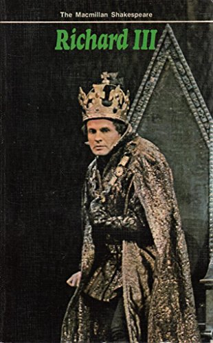 9780333149393 Richard Iii The Macmillan Shakespeare