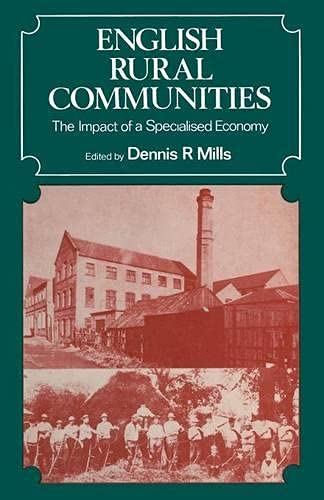 9780333149621: English Rural Communities: The Impact of a Specialised Economy