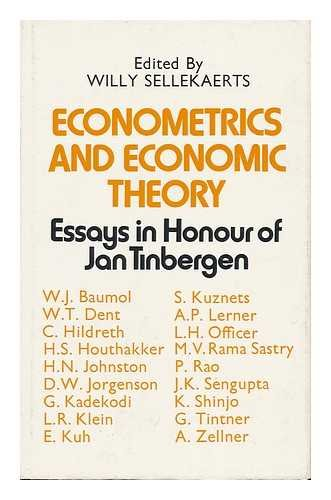 9780333149775: Econometrics and Economic Theory - Essays in Honour of Jan Tinbergen
