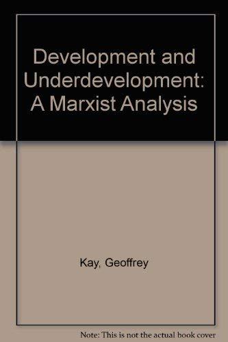 9780333154021: Development and Underdevelopment: A Marxist Analysis