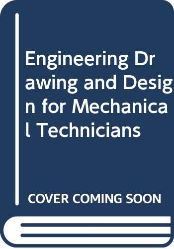 9780333154618: Engineering Drawing and Design for Mechanical Technicians
