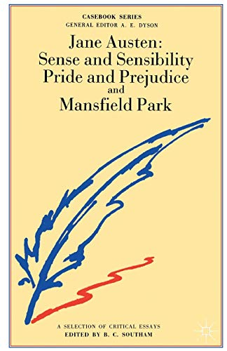 9780333155905: Jane Austen: Sense and Sensibility, Pride and Prejudice and Mansfield Park (Casebooks Series)