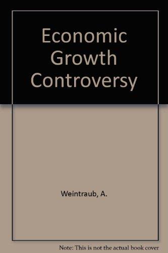 9780333165621: Economic Growth Controversy