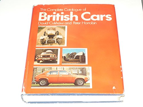 9780333166895: The Complete Catalogue of British Cars