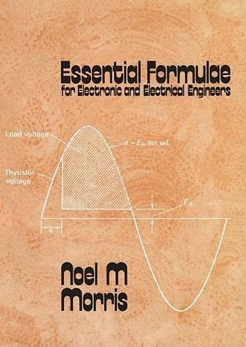 9780333168660: Essential Formulae for Electronic and Electrical Engineers