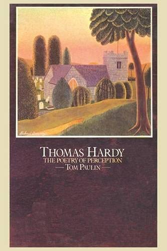9780333169155: Thomas Hardy: The Poetry of Perception