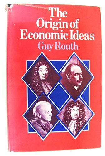 9780333171172: The origin of economic ideas