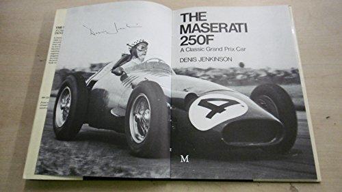 9780333172902: The Maserati 250f: A Classic Grand Prix Car