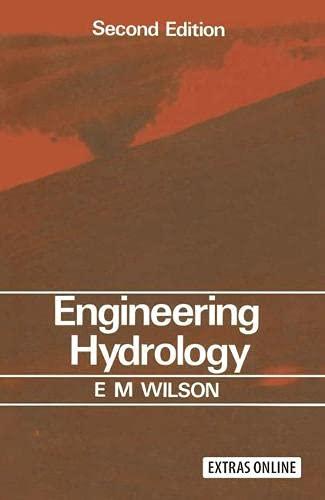 Engineering Hydrology: Wilson, Eric Montgomery