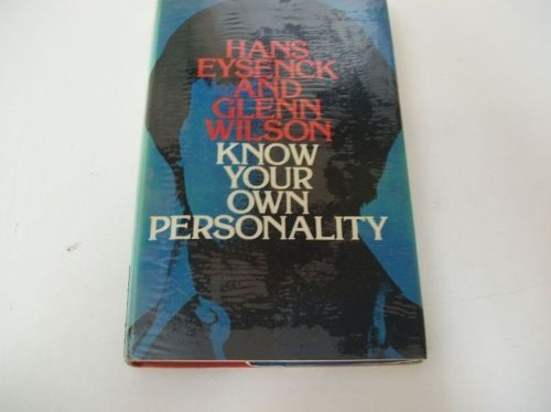 9780333175873: Know your own personality