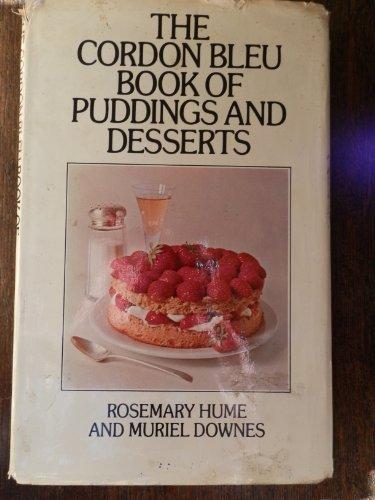 9780333176788: Cordon Bleu Book of Puddings and Desserts