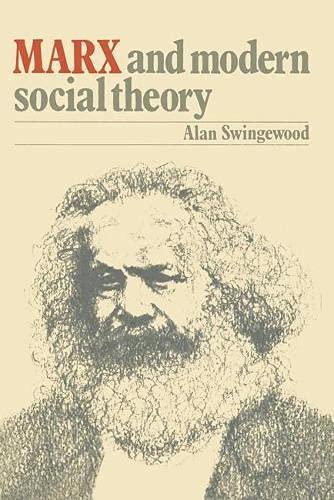 9780333176900: Marx and Modern Social Theory