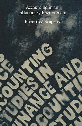 9780333177907: Accounting in an Inflationary Environment (Studies in finance and accounting)