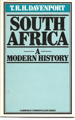 9780333179611: South Africa: A Modern History (Cambridge Commonwealth series)