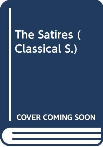 9780333180228: The Satires (Classical) (Latin Edition)