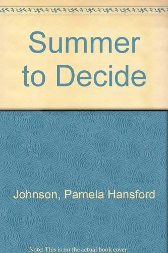 9780333180365: Summer to Decide