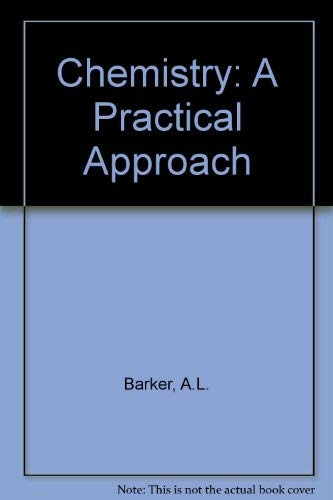 9780333182222: Chemistry: A Practical Approach