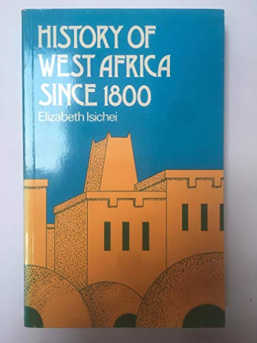 9780333187050: History West Africa Since 1800