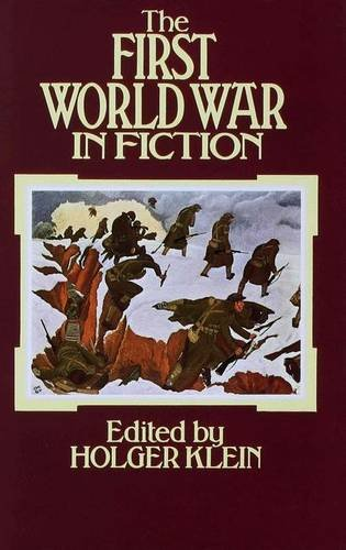 9780333188231: The First World War in Fiction: A Collection of Critical Essays